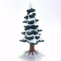Lemax 1995 9 Porcelain Pine Tree Dickensvale Collectibles #53131 Holiday Trees