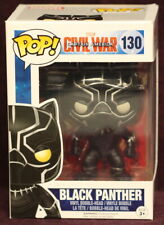 FUNKO POP! MARVEL Captain America Civil War #130 BLACK PANTHER VINYL BOBBLE-HEAD