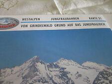 Alpenbahnen Westalpen K 31 Jungfraubahnen Grindelwald Grund  aufs Jungfraujoch