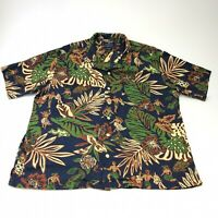 Vintage Polo Sport Hawaiian Tiki shirt Large
