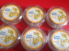 LOT OF 18 Care Bears Funshine Bear Tangerine Shimmer Lip Gloss GREAT PARTY FAVOR