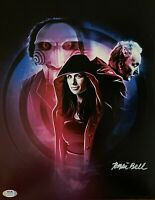 Tobin Bell autographed signed 11x14 SAW PSA Witness COA Jigsaw John Kramer Billy