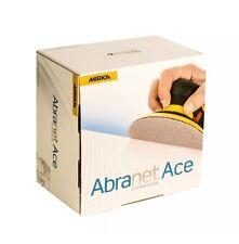 MIRKA Abranet ACE 150mm Grip Discs  P180 Grit Pack of 50