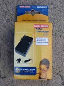 NEW - Synergy Digital Camera Charger Kit SDM-1532, for Panasonic DMW-BMB9E