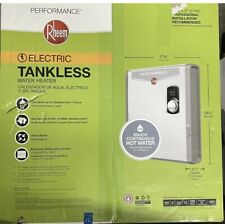 New Rheem Performance 27kw Self-Modulating 5.3GPM Electric Tankless Water Heater