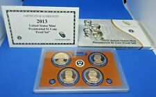 2013 S United States Mint Presidential $1 Coin Proof Set w/ Box & COA
