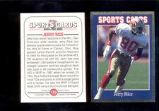 1992 Sports Card News JERRY RICE San Francisco 49ers Magazine Card