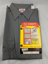 "Vintage Ole Honesty Work Shirt Men 14.5"" Sanfordized Vintage"