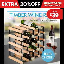Wooden Wall Mounted Alcohol Racks
