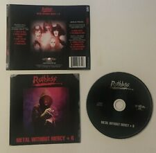 RUTHLESS - METAL WITHOUT MERCY + 6 - CD - 2012
