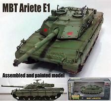 Italian MBT C1 Ariete E1 118832 tank 1:72 no diecast Easy Model