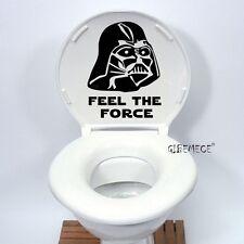 Star Wars Darth Vader Toilet Seat Sticker Funny cartoon Vinyl Decal Home Decor