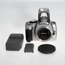 Canon Rebel XT 350D 8MP Silver Digital Camera Body