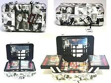 PARIS MEMORIES AUTO CASE MAKE UP SET MIRROR STORAGE 31PC CONTOUR KIT WOMENS GIFT