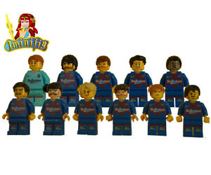 Custom Print minifigure Barcelona Team Choice of 2004~2020 Season Playerx11
