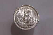 CANADA 1 Dollar 1958 - Silver - British Columbia B28 #K6162