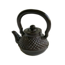 1/12 Miniature Metal Embossed Teapots Kettle DIY Doll House Kitchen Accessories