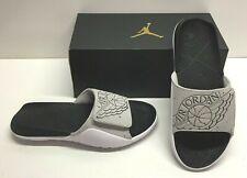 Nike Air Jordan Hydro 7 Tech Gray Slides Sandals Beach Casual Shoes Mens 11