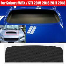 3D Carbon Fiber Hood Scoop Overlay Vinyl for Subaru WRX/STI 2018 2017 2015 2016