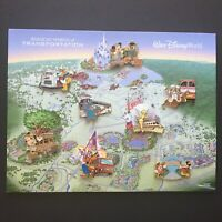 WDW Magical World of Transportation Pursuit ALL 8 Pins & Background Disney 45677
