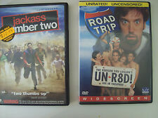 Road Trip and Jackass Number Two, Dvds