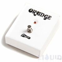 Orange FTSWCH Orange Amplifier Amp Single Button Footswitch NEW + FREE SHIPPING!