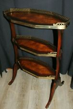 """Theodore Alexander The Sometime Table 28"""" Solid Oak with Flame Mahogany Veneer"""