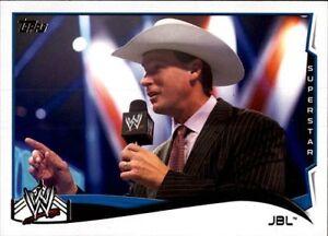 WWE'S JBL 2014 TOPPS #72