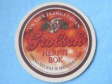Beer Coaster: Grolsch Bierbrouwerij Ned Brewing-Premium Pils-Netherlands Brewery