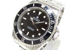 Auth ROLEX Submariner Non Date 14060 Silver Men's Wrist Watch X883090