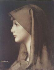 Portrait de Fabiola par Jean-Jacques Henner Médecine Médecin