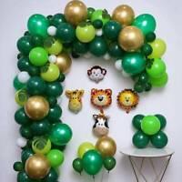 Jungle Safari Animal Theme Balloon Garland Arch Kit Birthday Party Decoration