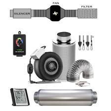 VIVOSUN 4/6/8 Inch Inline Fan Carbon Filter Ducting Combo w/ Speed Controller