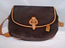 Vintage Authentic Dooney & Bourke C328 BN Safari Shoulder Bag Handbag #46928
