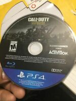 Call of Duty: WWII World War 2 (Disc Only) (Sony PS4, 2017)