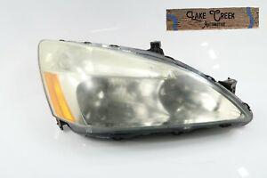 OEM 2003 2004 2005 2006 2007 Honda Accord Halogen Headlight (Right/Passenger)