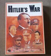 Vintage Hitler's War Board Game (Avalon Hill) - 1984 UNPUNCHED