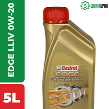Olio Motore Castrol EDGE Professional LL IV FE 0W20 TITANIUM FST 5 Litri