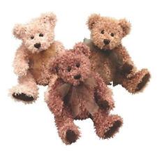 "Scruffy/Three 6"" Stuffed Bears by First & Main 1742"