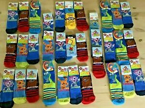Moshi Monsters Mike the Knight Minions Bart 3 pairs Socks Mix Girl Boy Children