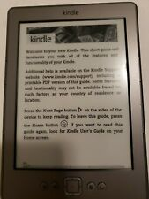 """Amazon Kindle DO 1100 4th Generation 6"""" WiFi  Pre-owned"""