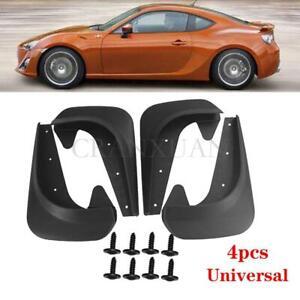 4PCS  Universal Front Rear Mud Flap Flaps Splash Guard Mudguards Car Accessories