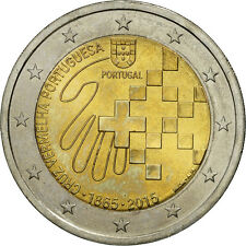 [#461022] Portugal, 2 Euro, 2015, SPL, Bi-Metallic