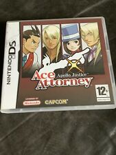 Apollo Justice Ace Attorney Ds Game With Manual
