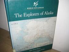 World Explorers/ Explorers of ALASKA/  Hardback/1992/Chelsea House