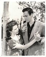 """MALA POWERS & ROBERT CLARKE in """"Outrage"""" Original Vint. Photo by ROD TOLMIE 1950"""