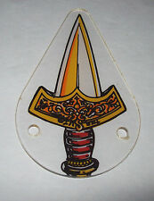 TALES OF THE ARABIAN NIGHTS WILLIAMS NOS PINBALL MACHINE PLASTIC KEYCHAIN SWORD