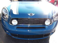 Mini Cooper S Countryman Black Driving Lights Kit With Grill 2010-2011 OEM