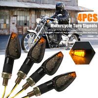 4x LED Motorrad Blinker Miniblinker Universal Roller Mit E-Prüfzeichen 12V 10MM