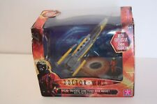 Doctor Who Micro-Universe Sanctuary Base Rocket with Doctor in Space Suit Figure
